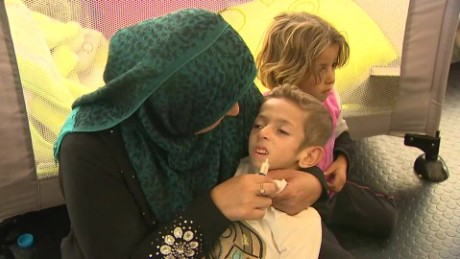Exclusive: Syrian children in dire need of medical care