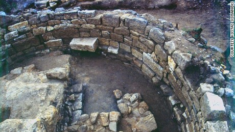 A Greek archaeologist believes this is the tomb of Aristotle.