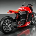 electric motor bike tesla concept 1