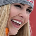 Lindsey Vonn close-up