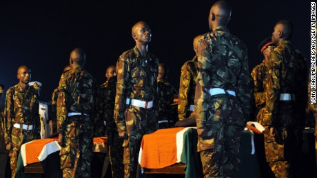 Kenya covers up military massacre