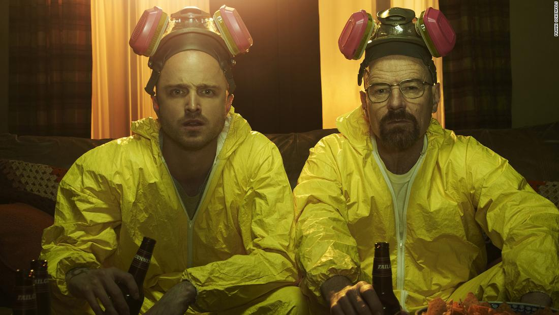 "Bryan Cranston's Walter White, right, in ""Breaking Bad"" was the ultimate 21st-century antihero: a teacher-turned-meth kingpin."