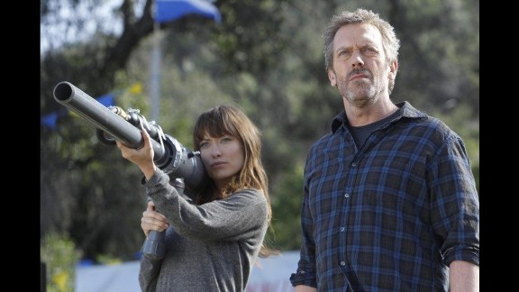 """Hugh Laurie's Dr. Gregory House on """"House"""" was a medical detective and drug-addicted narcissist."""
