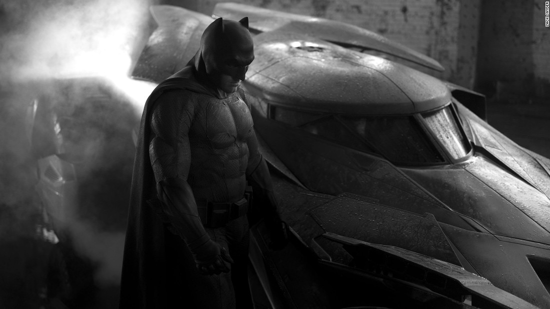 "Ben Affleck blurred the lines between good and evil as Batman in ""Batman v Superman: Dawn of Justice."""