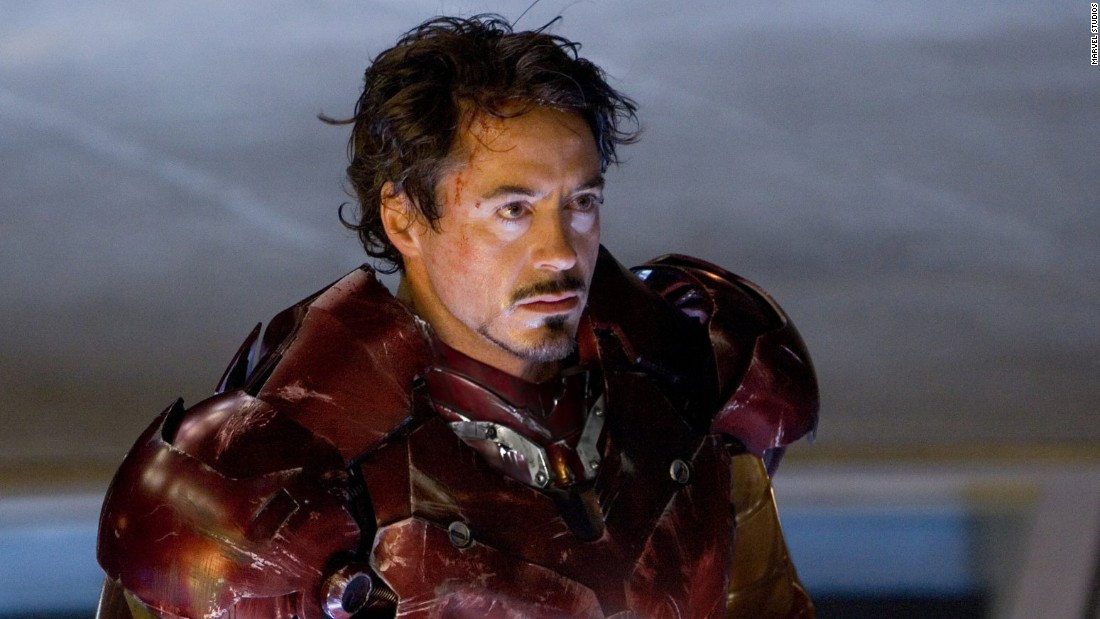 "Robert Downey Jr. embodied Tony Stark's dark personal history in the title role in ""Iron Man."""
