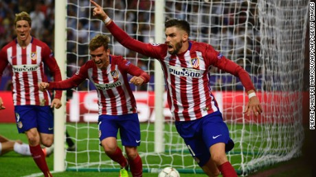 Carrasco gave Atletico hope with a second half equalizer.