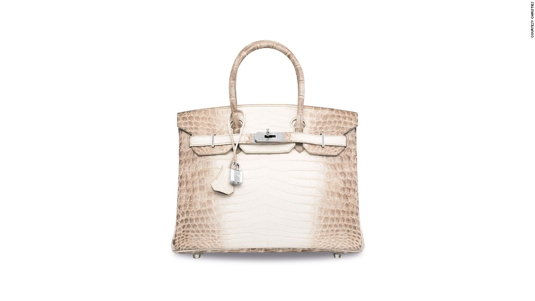 The Most Expensive Handbag Ever Sold Diamond Hermes Cnn Style