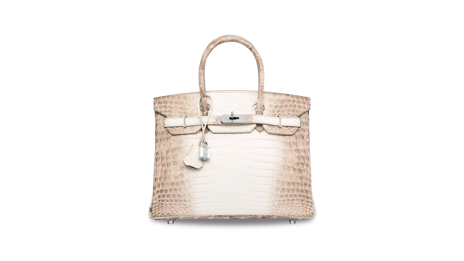 46d6eb799459 The most expensive handbag ever sold  Diamond-encrusted Hermes Birkin sells  for over  300K
