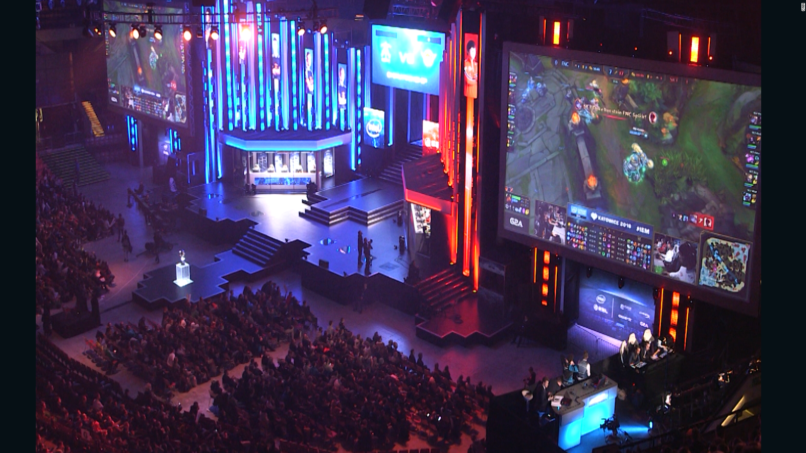 eSports business is booming - CNN Video