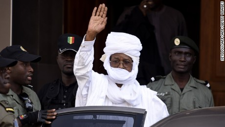 Habre denied the charges and refused to recognize the court's legitimacy.