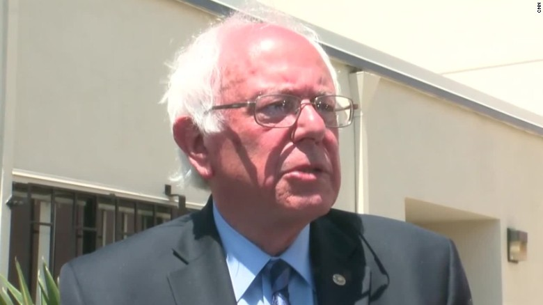 Bernie Sanders calls out 'Mr. Macho' Donald Trump