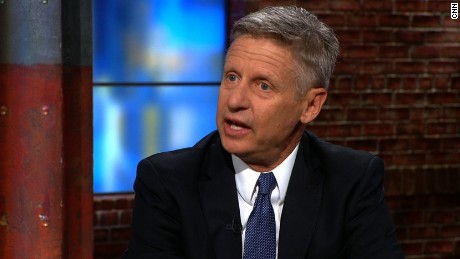 Gary Johnson: Marijuana doesn't make you stupid