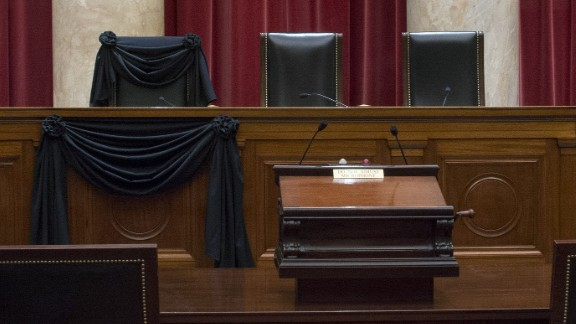 """The Supreme Court <a href=""""http://www.cnn.com/2016/02/22/politics/john-roberts-opening-remarks-antonin-scalia/"""" target=""""_blank"""">is operating with eight justices this year</a> following the death of Antonin Scalia in February. See some of the prominent issues that the high court has faced -- or is still facing -- in 2016."""