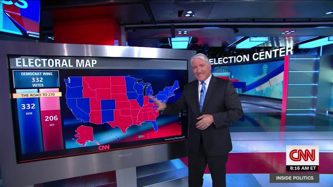 This is what Trump hopes the electoral map looks like CNN Video