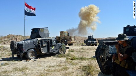Anti-ISIS forces defeat militants in battle for Falluja