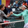 Stosur Halep french open day 10