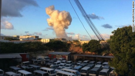 Ambassador Hotel attacked in Mogadishu, Somalia