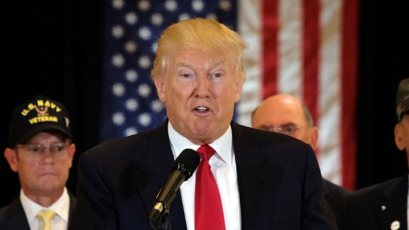 US Republican presidential candidate Donald Trump speaks during a press conference at the Trump Tower on May 31, 2016 in New York. / AFP / Jewel SAMAD        (Photo credit should read JEWEL SAMAD/AFP/Getty Images)