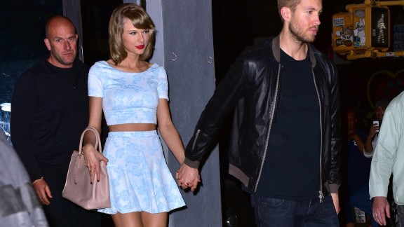 People reported that singer Taylor Swift and producer Calvin Harris split after 15 months.