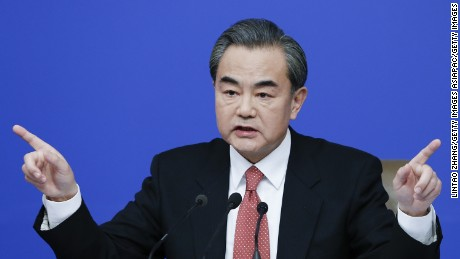 China's Foreign Minister berates Canadian reporter over human rights