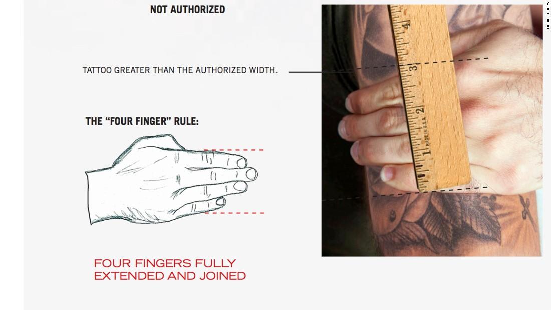 Marines Ink New Tattoo Rules Cnnpolitics