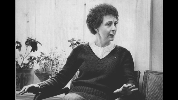 Feminist activist and writer Sonia Johnson ran in 1984 as the presidential candidate of the U.S. Citizens Party, Pennsylvania