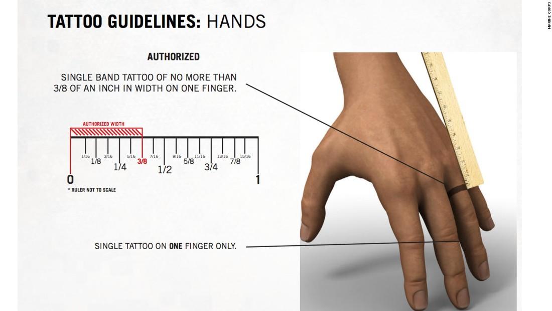 Marines ink new tattoo rules - CNNPolitics