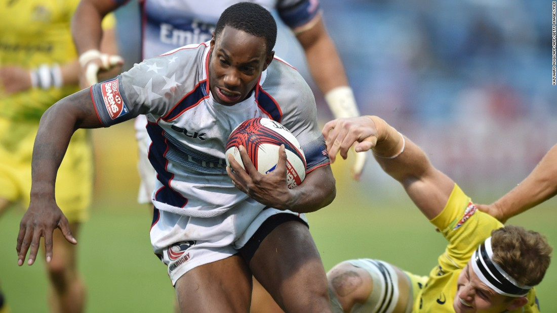 Likewise, American winger Carlin Isles has arrived at rugby sevens via a background of American football and track running.