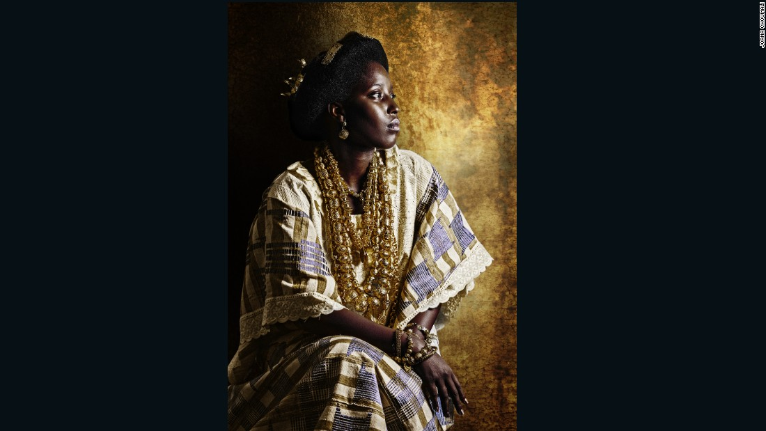"<a href=""https://www.instagram.com/joana_choumali/"" target=""_blank"">Joana Choumali</a> is an award-winning artist and photographer from the Ivory Coast, who uses photography to explore her own identity. In her series <a href=""https://edition.cnn.com/style/article/joana-choumali-resilients-photography/index.html"" target=""_blank"">'Resilients'</a> she captures women who are told they aren't ""real Africans."" She focused on the generation of women growing up in cities or out of their country of origin, picking up international influences along the way."