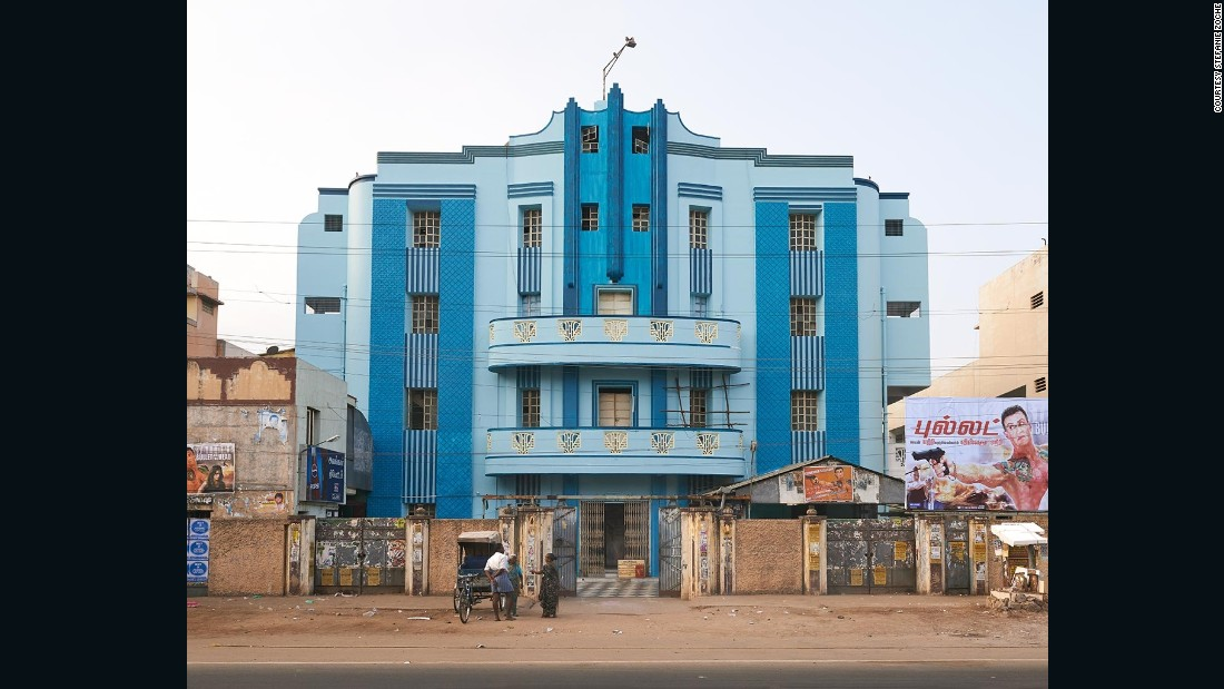 These theaters combine Modernist design elements and traditional Indian aesthetics.