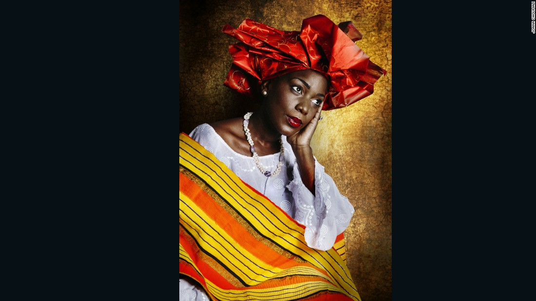 "Amari Anifah, a Yoruba woman, is photographed as part of Choumali's 'Resilients' series. <a href=""https://edition.cnn.com/style/gallery/joana-choumali-resilients-photography/index.html"" target=""_blank"">Read</a> more about <a href=""https://edition.cnn.com/style/article/joana-choumali-resilients-photography/index.html"" target=""_blank"">'Resilients.'</a>"