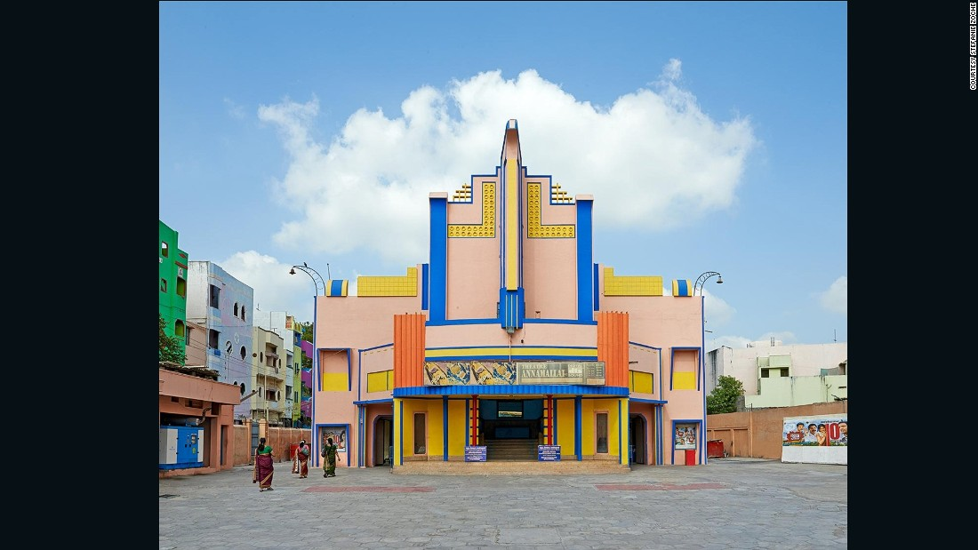 Cinemas that fuse Modernist and traditional Indian architecture are a beautiful reminder of the country's past.