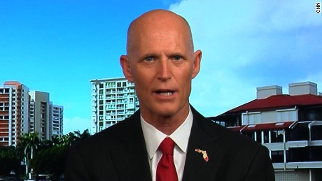 Gov. Rick Scott says 'no' to being Trump's running mate