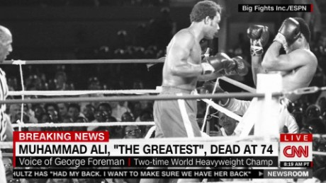 exp George Foreman remembers Muhammad Ali's legacy_00002001