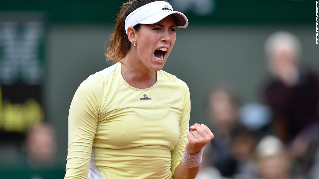 Garbine Muguruza of Spain stunned Serena Williams in the French Open final Saturday to win her first grand slam title.