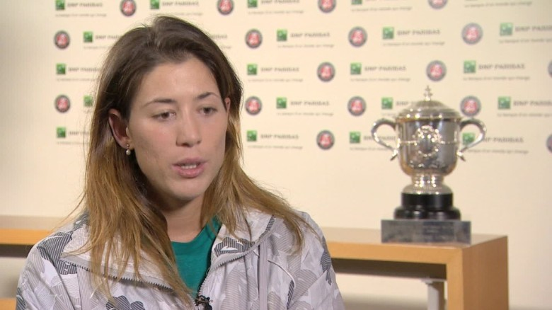 Muguruza wins French Open