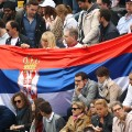 serbia flag french open final