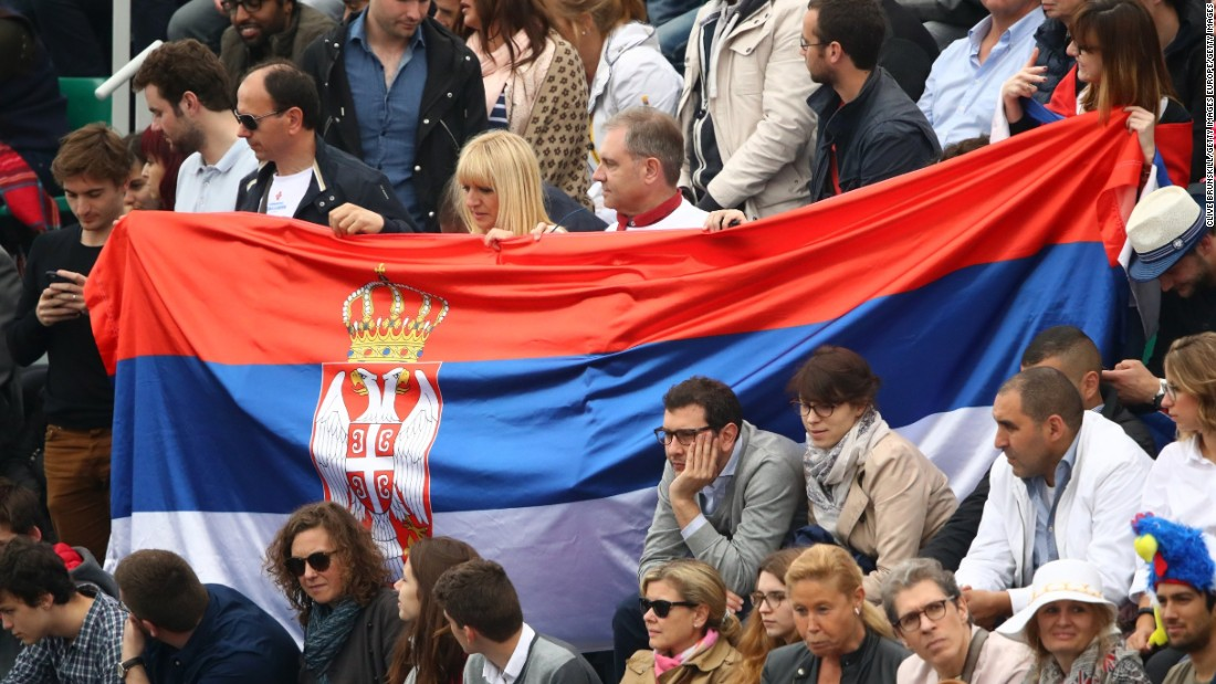 As well as going up against Djokovic, Murray was facing a crowd heavily in the Serb's favor.