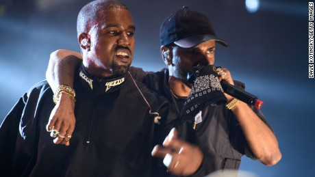 Kanye West and Big Sean team up Sunday for the 2016 Hot 97 Summer Jam in New Jersey.  A later show was canceled.