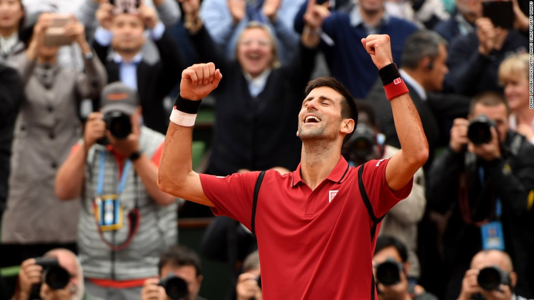 Djokovic is looking to recapture the form that saw him win four straight majors from 2015-2016. He was the first man to win four straight since Rod Laver in 1969.