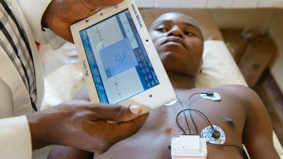 Cameroonian entrepreneur, Arthur Zang, has invented a touch-screen heart monitoring device that records, and then sends heart activity to a national healthcare center for evaluation. It could have hugely positive potential for rural populations far from hospitals.   Read more about this device.