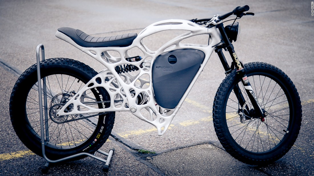 The limited-edition bike has a price tag of €50,000.