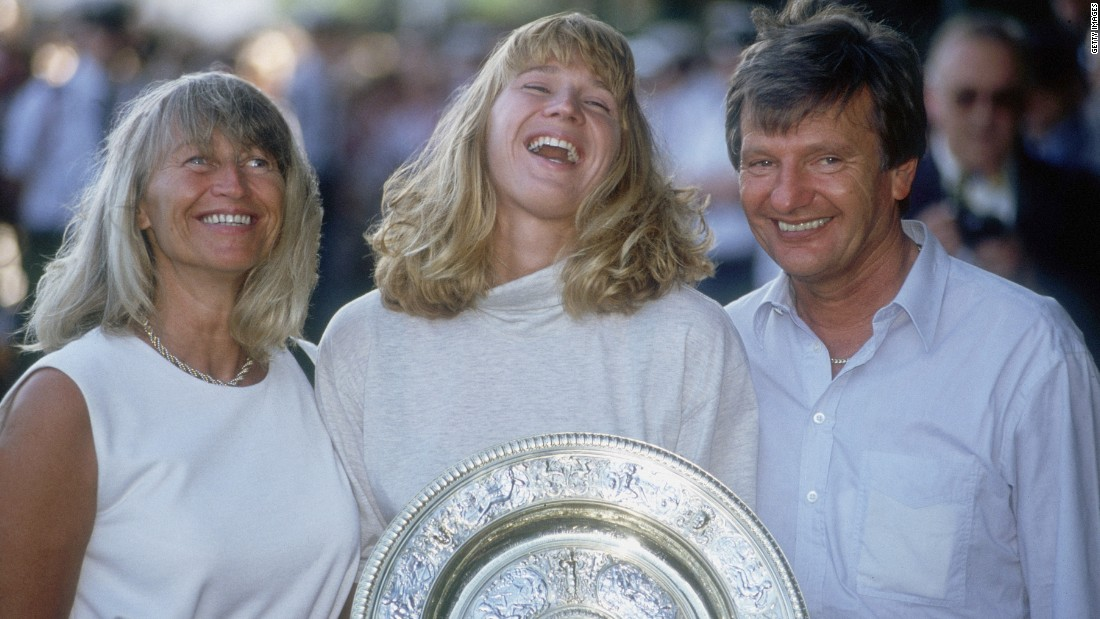 "Peter Graf was such a vigorous coach and mentor of his 22 grand slam winning daughter Steffi that the German press nicknamed him ""Papa Merciless."" In 1997 the second-hand car salesman was <a href=""http://www.nytimes.com/2013/12/04/sports/peter-graf-volatile-father-of-tennis-great-dies-at-75.html?_r=0"" target=""_blank"">convicted of evading $7.4m</a> of tax on his daughter's earnings and was sentenced to three years and nine months in prison."