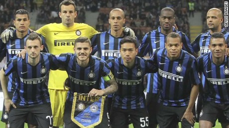 China's Suning buying majority stake in Inter Milan