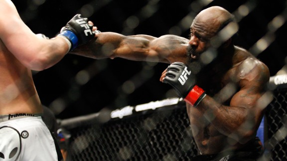Mixed martial arts fighter Kimbo Slice died June 6 at the age of 42. Slice, whose real name was Kevin Ferguson, initially gained fame from online videos that showed him engaging in backyard bare-knuckle fights. He then became a professional fighter with a natural charisma that endeared him to fans.