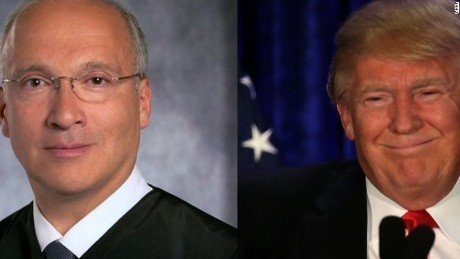 Trump's disparaged judge as