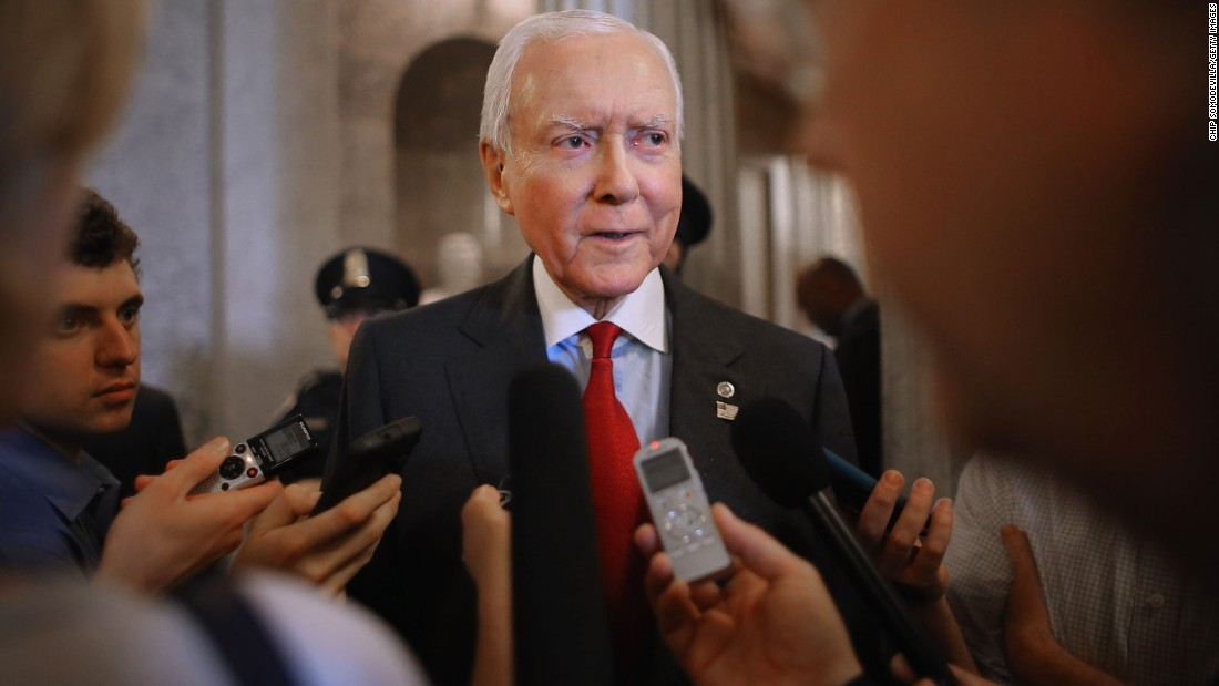 "Republican Sen. Orrin Hatch of Utah will speak. Ali once called Hatch his favorite politician, <a href=""http://www.sltrib.com/news/3965632-155/ali-on-his-pal-orrin-hatch"" target=""_blank"">according to the Salt Lake Tribune, citing a 1988 Insight Magazine article</a>. ""He was so polite and courteous. And I could tell he wasn't patronizing me like some people do,"" the newspaper quoted Ali as  saying. After Ali's death, Hatch said his friendship with Ali is ""a special blessing that I will always cherish."""
