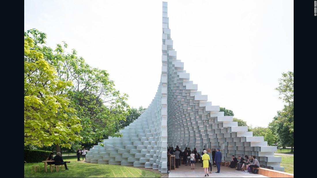Genial Bjarke Ingels Unveils Serpentine Gallery Pavilion 2016   CNN Style
