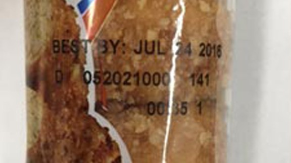 """Recalled Hostess snacks can be identified by their """"best by date"""" and batch number on the packaging."""