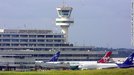 Flights to Murtala Muhammed International Airport have been diverted, roiling travelers' plans